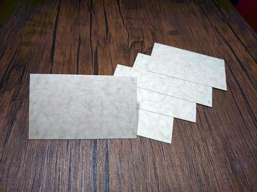 願望成就カード(洋皮紙)